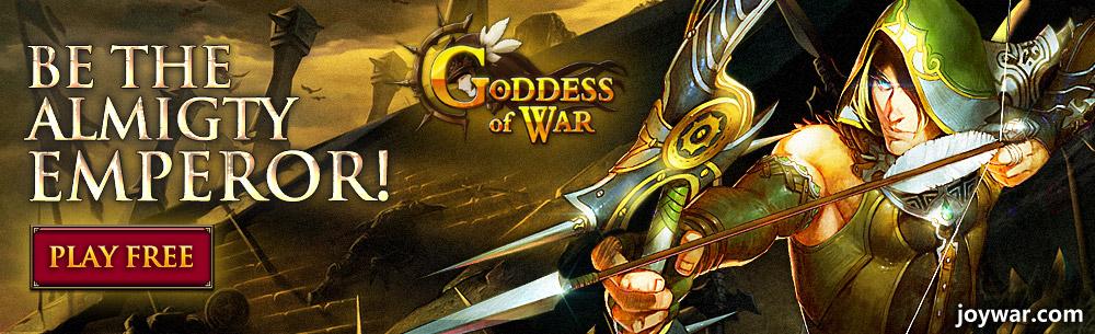 Goddess Of War Giveaway