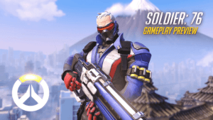 Overwatch Gameplay Preview: Soldier: 76 video thumbnail