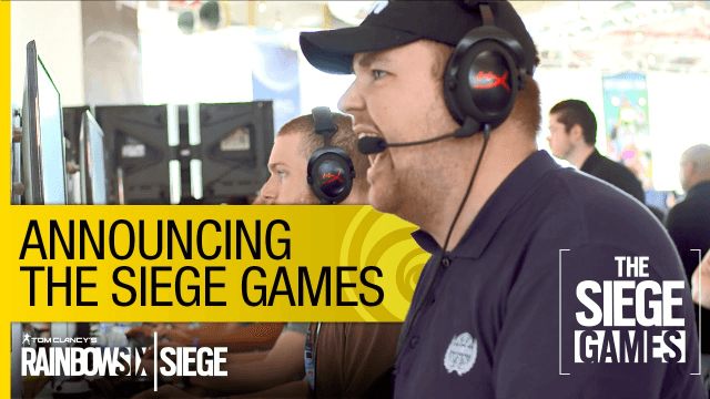 Tom Clancy's Rainbow Six Siege: Siege Games Announcement Trailer thumbnail