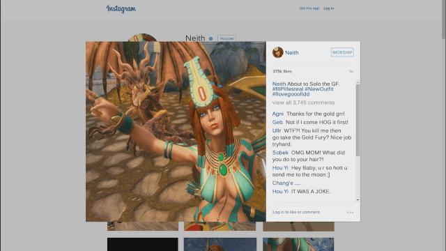 SMITE: Insta-Kill Neith Instagram Promo video thumbnail