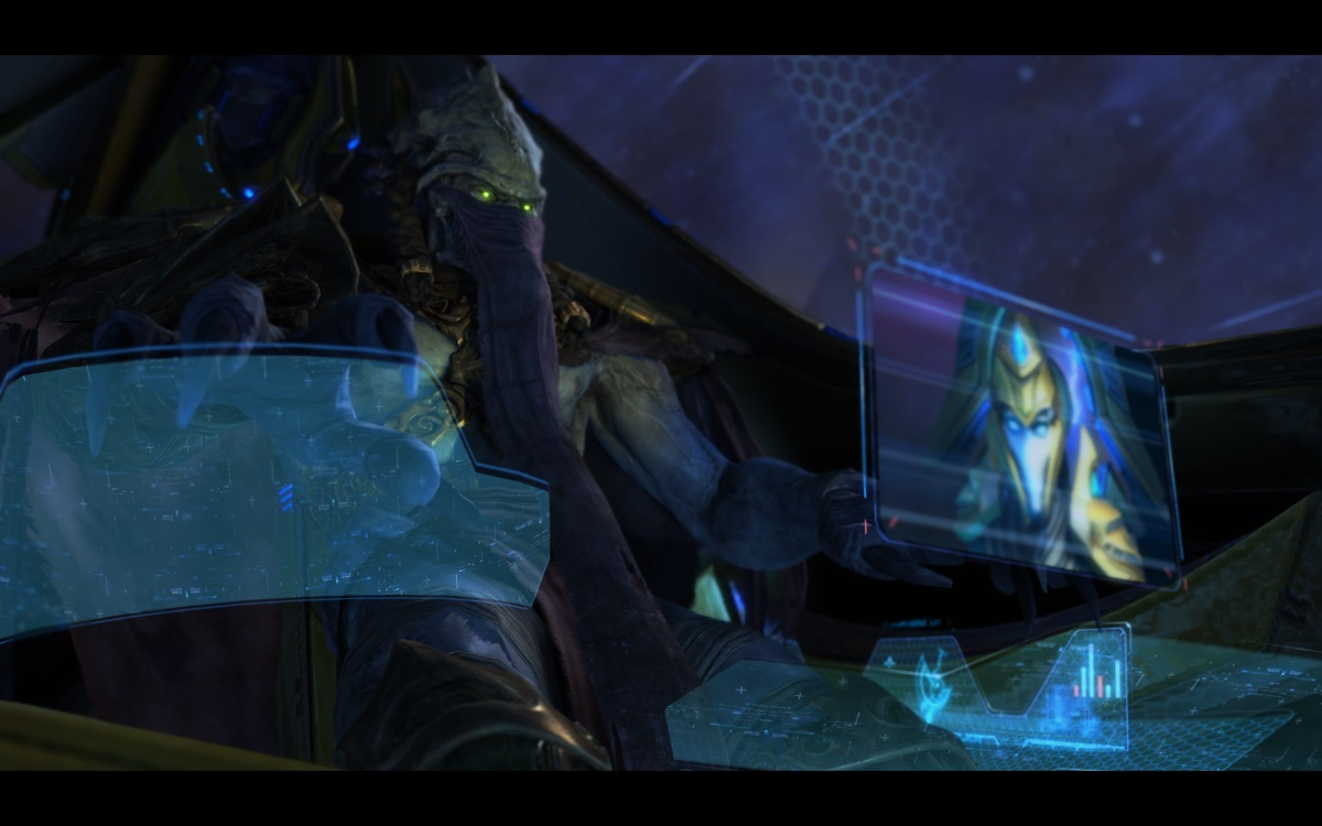 StarCraft II: Legacy of the Void news header