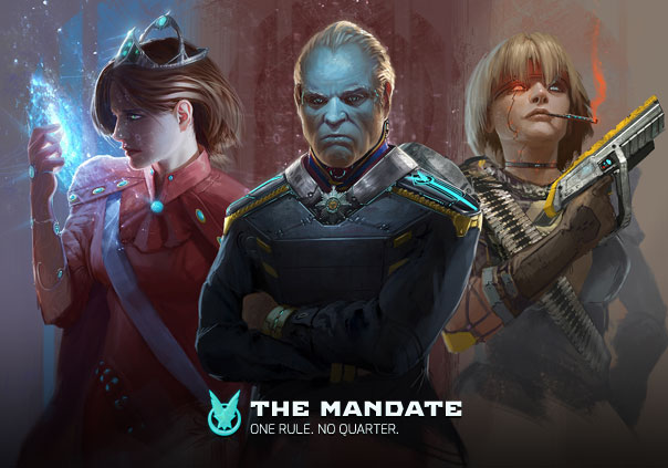 The Mandate Game Profile Banner