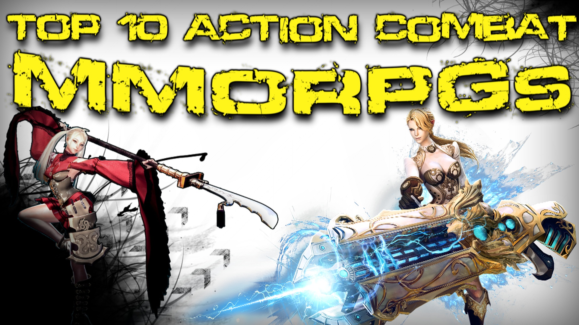 MMOHuts Top Ten Action Combat MMORPGs Tera, Vindictus, Blade & Soul, Black Desert