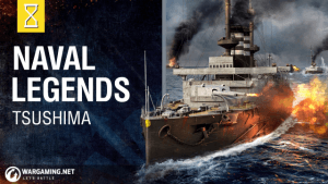 World of Warships Naval Legends - Battle of Tsushima video thumbnail