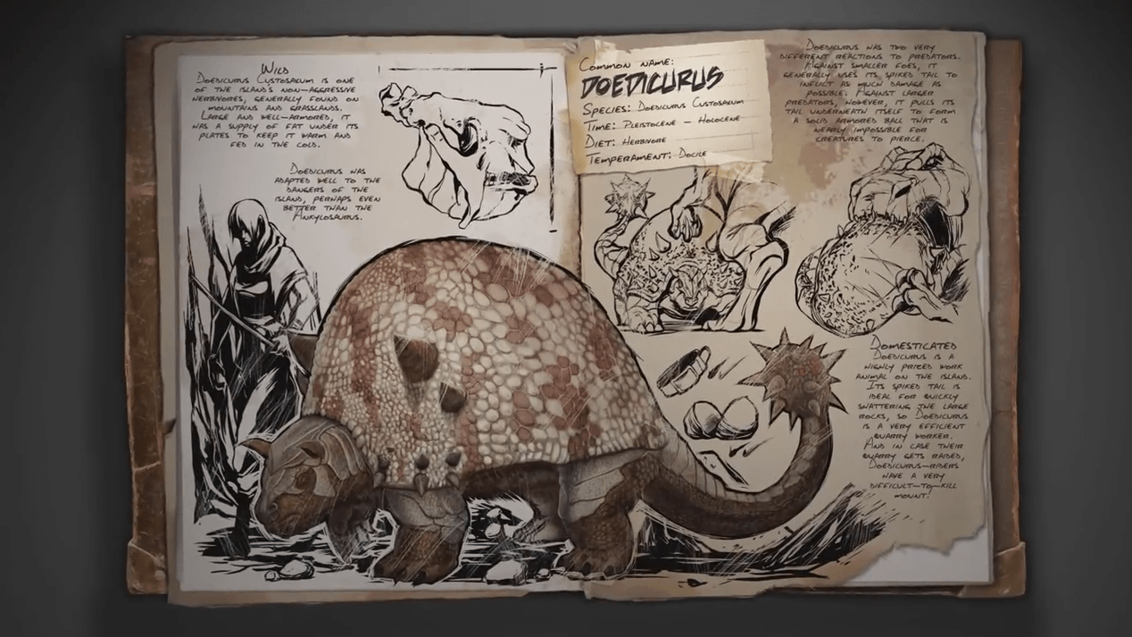 ARK Survival Evolved Spotlight: Doedicurus video thumb