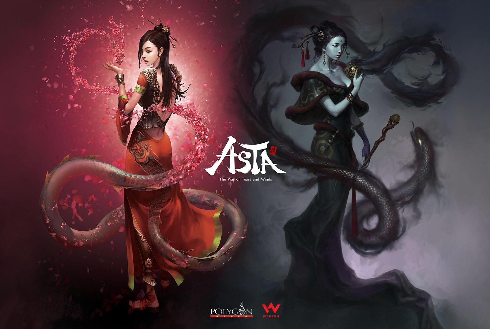 Asian Fantasy MMORPG ASTA is coming to Webzen news header