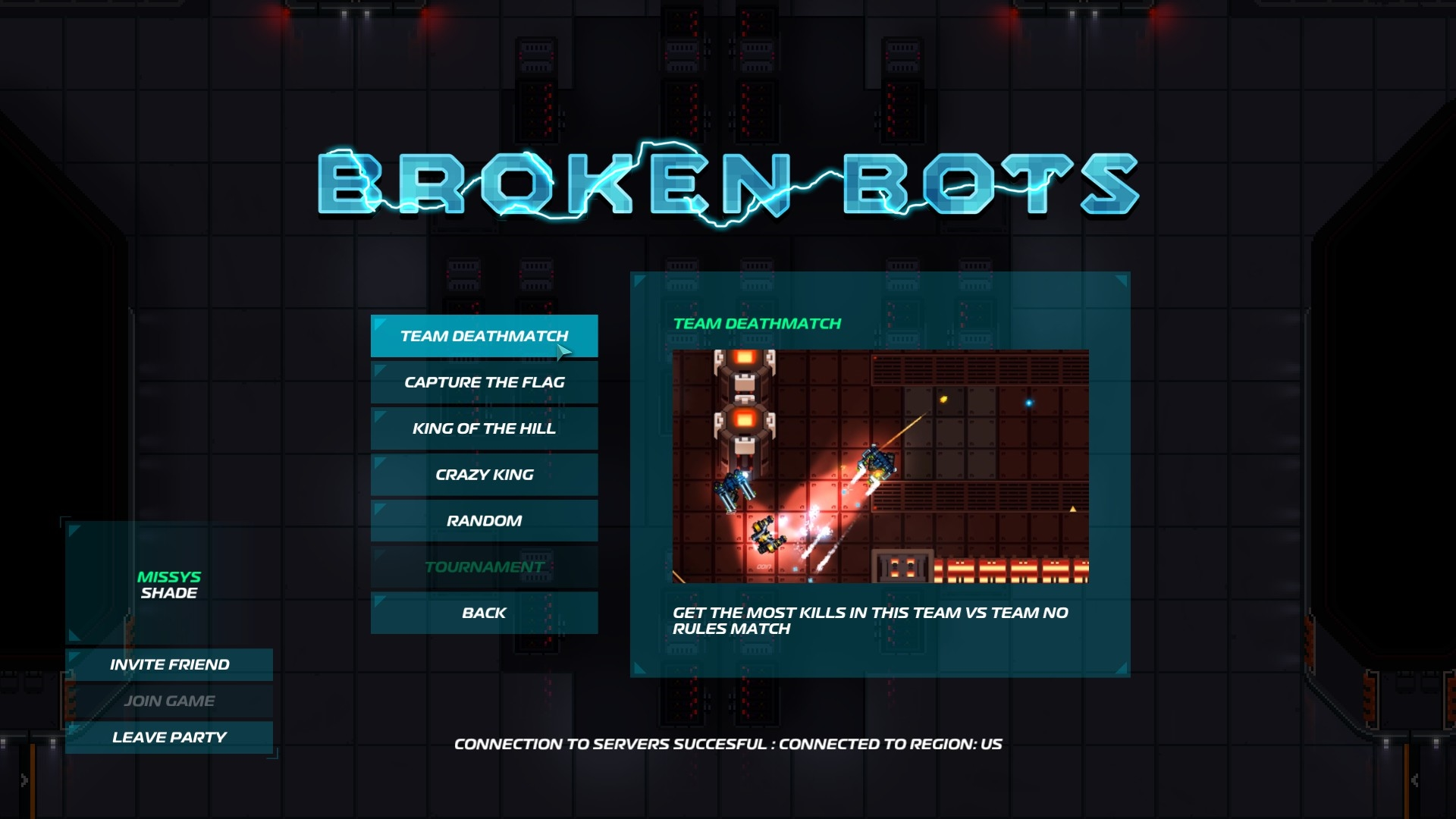 Broken Bots Early Access Preview Screenshot