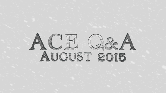 Crowfall - ACE Q&A for August 2015 video thumbnail