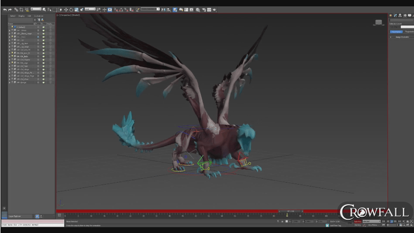 Crowfall: Creature Animation & Team Effort video thumbnail