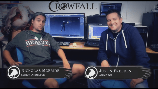 Crowfall - Meet the Animators video thumb