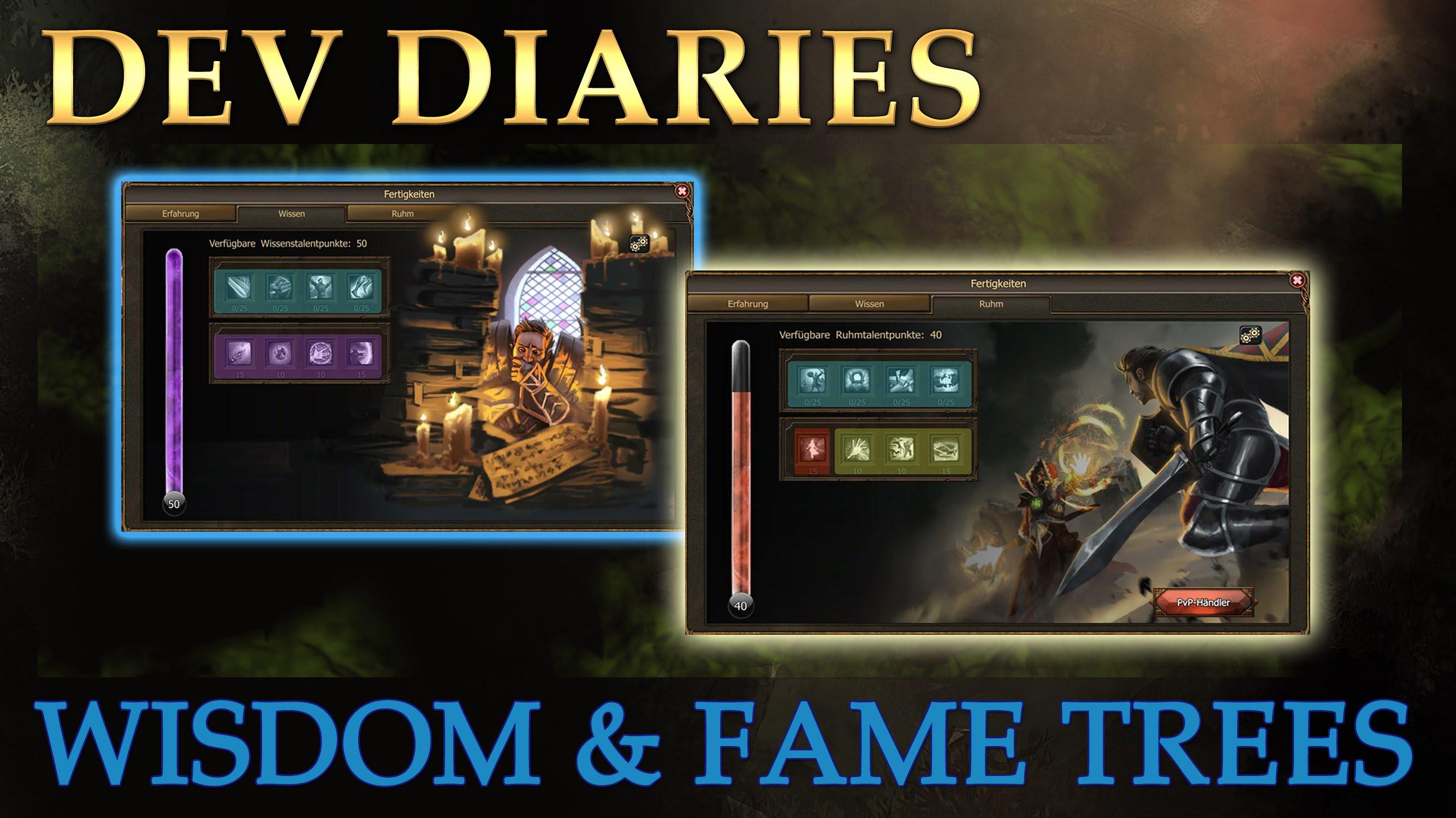 Drakensang Online: Wisdom & Fame Trees Dev Diary video thumbnail