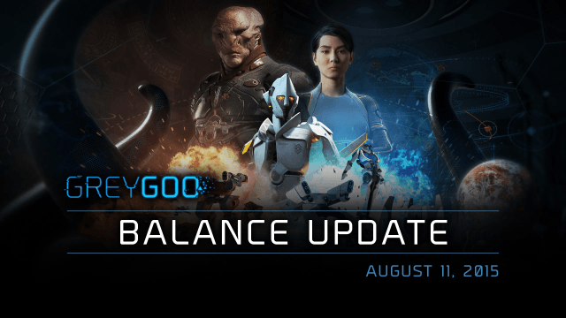 Grey Goo Balance Update - August 11, 2015 video thumb