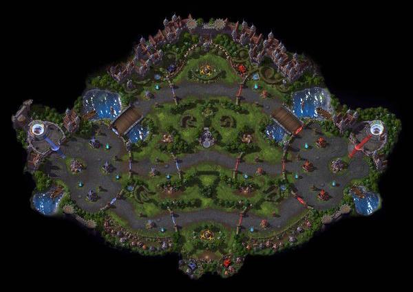 HotS BattleGrounds List Dragon's Shire