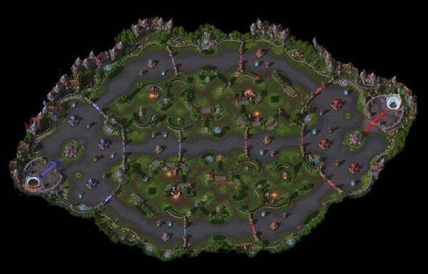 HotS BattleGrounds List Garden of Terror