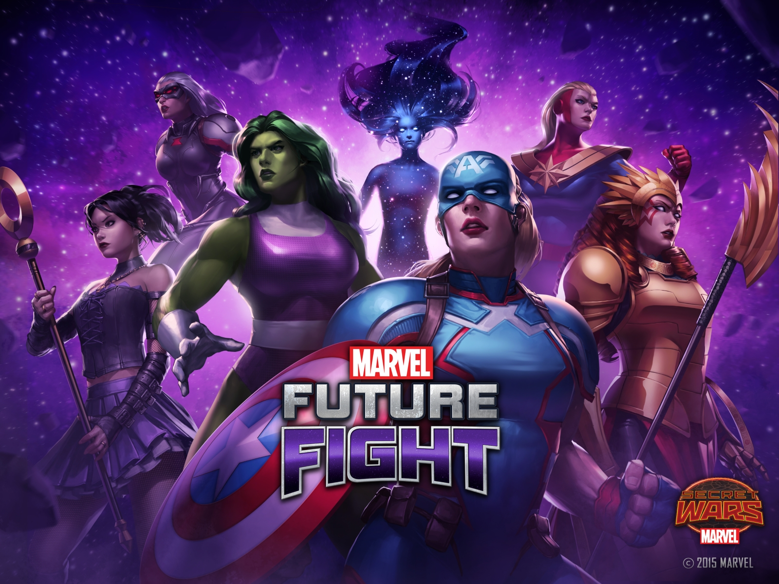 MARVEL Future Fight Reveals Secret Wars in Brand New Update news header