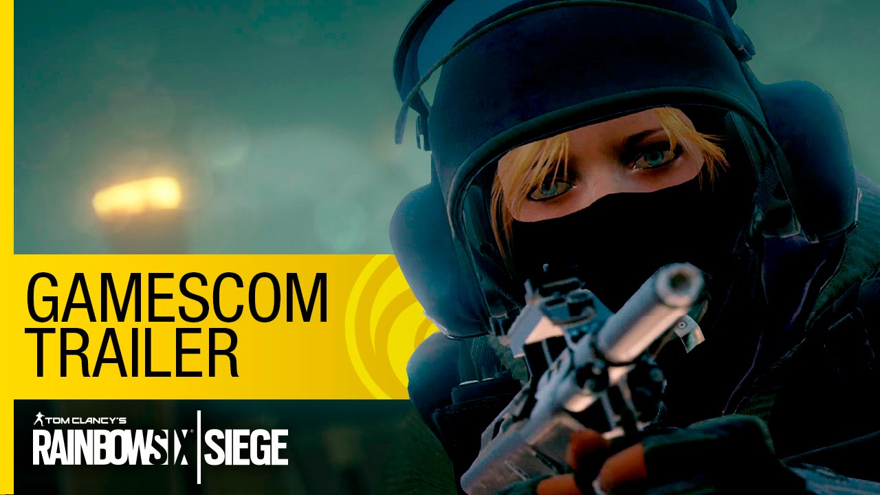 Rainbow Six Siege Gamescom 2015 Trailer thumbnail