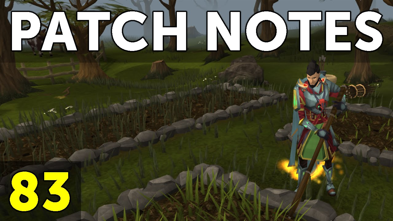 RuneScape Patch Notes #83 video thumbnail