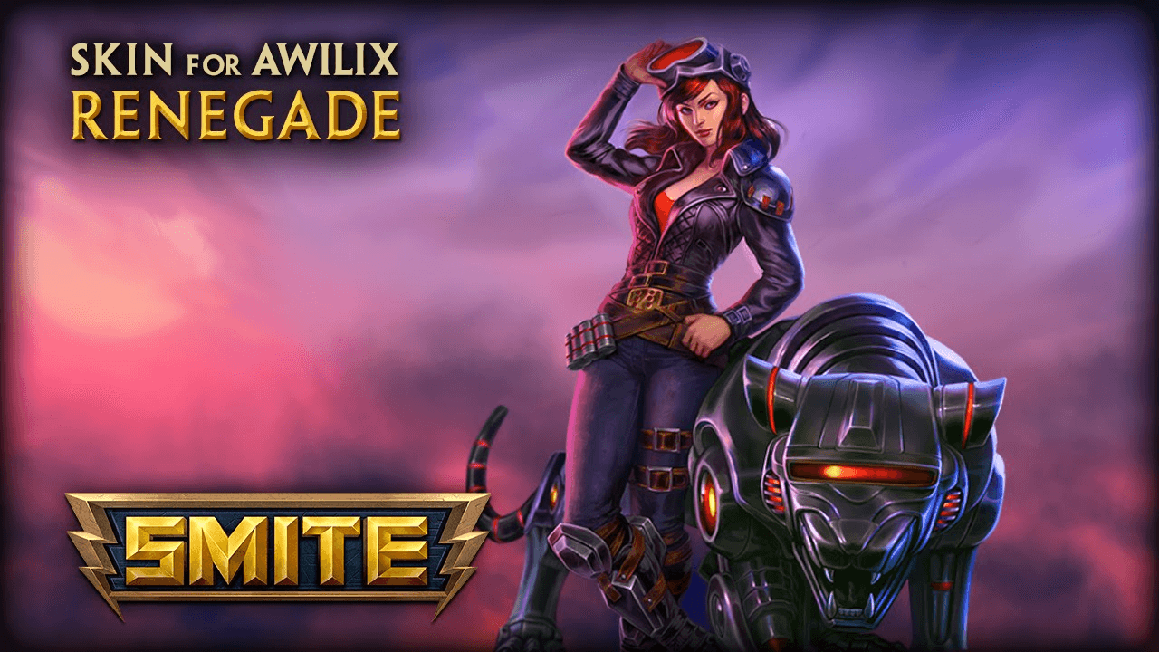 SMITE: Renegade Awilix Skin Preview video thumbnail