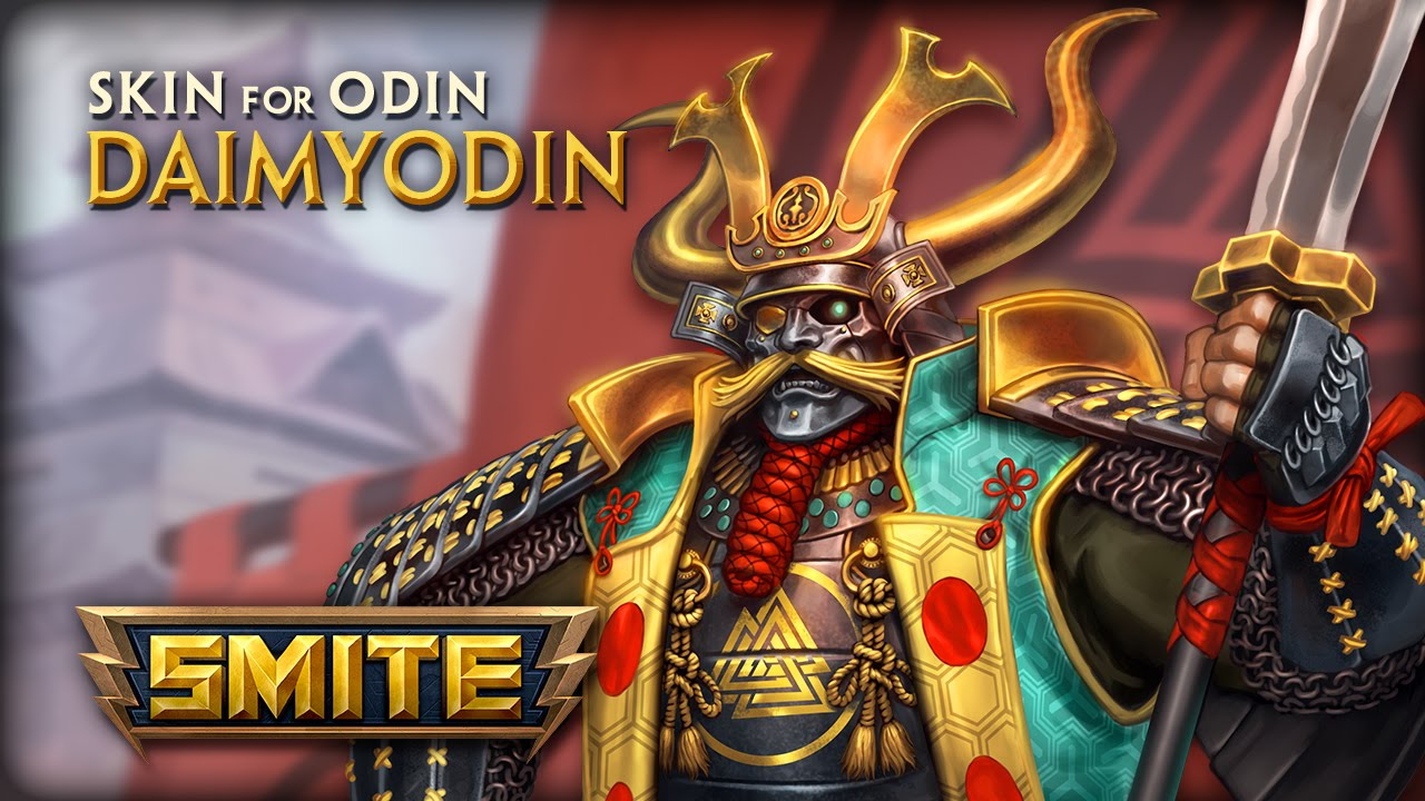 SMITE introduces the DaimyOdin skin, available in the Celestial Wedding patch.