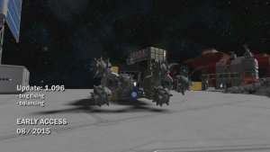 Space Engineers - Update 01.096 news header