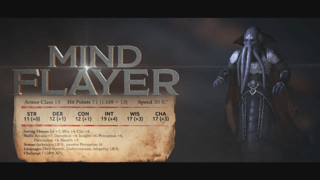 Sword Coast Legends: Monster Showcase - Mind Flayer video thumbnail