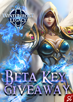 Winterfrost Legacy Giveaway Homepage