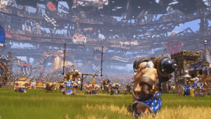Blood Bowl 2 Dwarves vs Skaven gameplay video