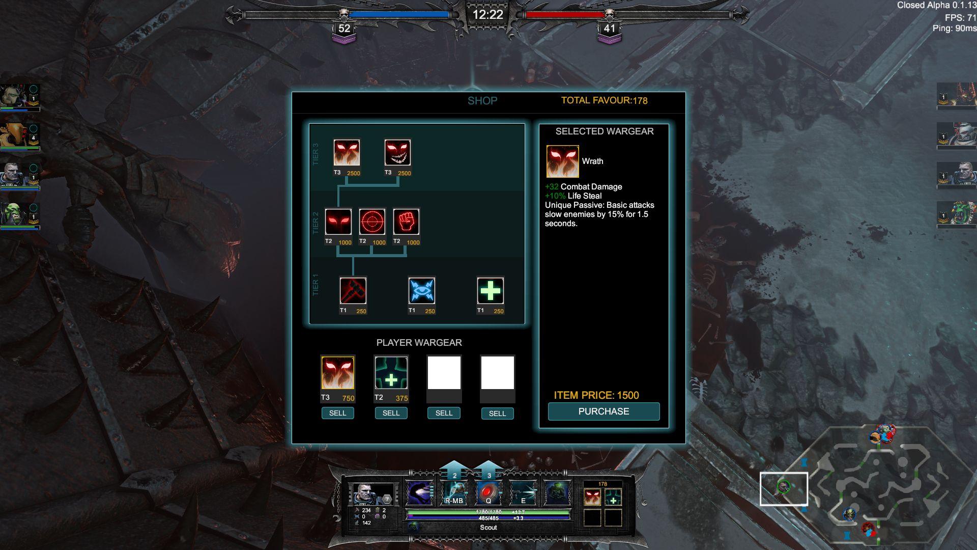 Warhammer 40k: Dark Next Arena Alpha Impressions