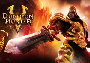 DungeonHunters5 Game Banner