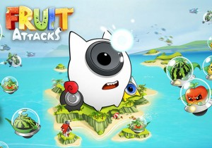 Fruit_Attacks Game Banner