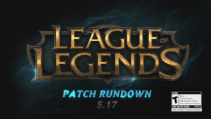 League of Legends Patch Rundown 5.17 video thumbnail