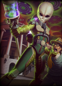 SMITE Alien Attacks patch