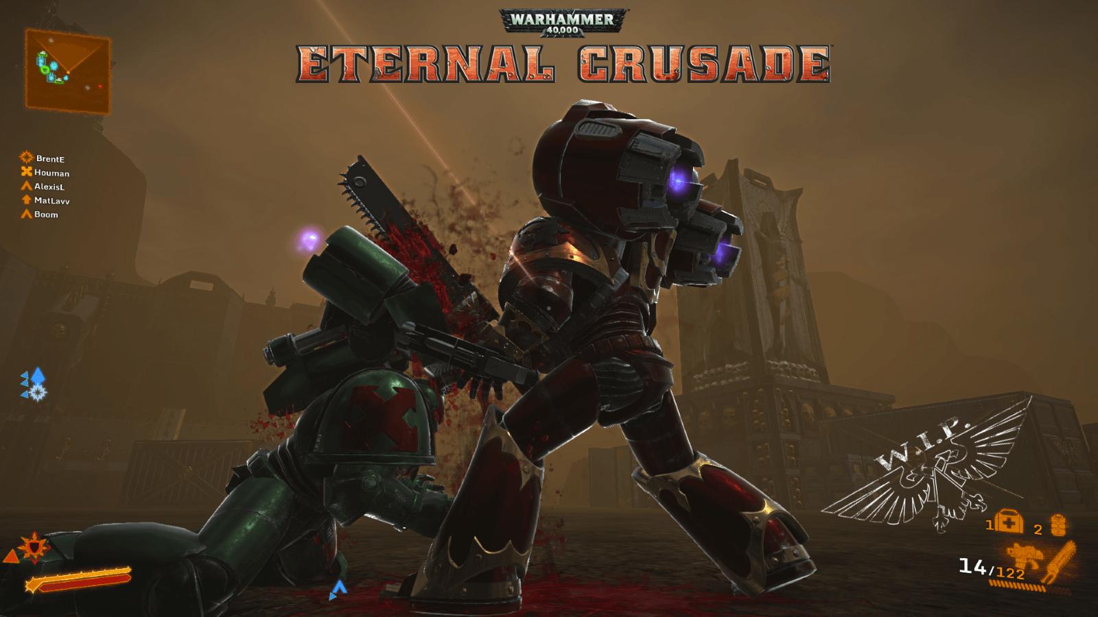 Warhammer 40,000 Eternal Crusade Entering Closed Alpha Testing news header