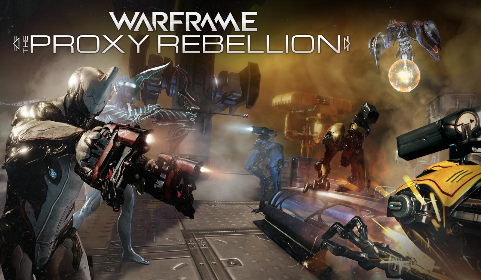 Warframe Launches Proxy Rebellion Bonus Weekend news header