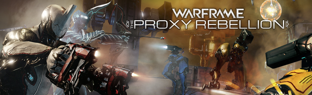 Warframe Proxy Mod Giveaway
