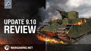 World of Tanks: Update 9.10 Review video thumbnail