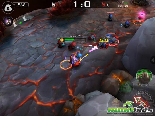 Ace of Arenas Mobile MOBA Review