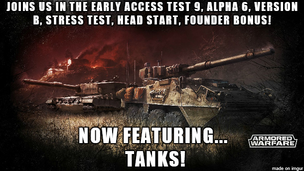 Armored Warfare Open Beta with Tanks