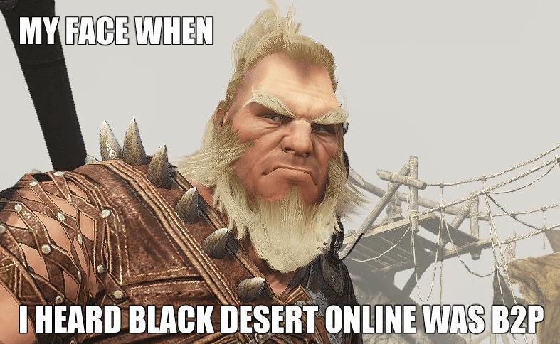 Black Desert My Face When