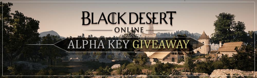 Black Desert Alpha Key Giveaway