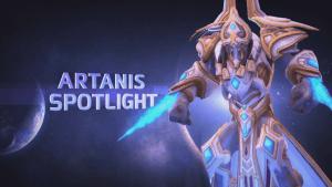 Heroes of the Storm Artanis Spotlight video thumbnail