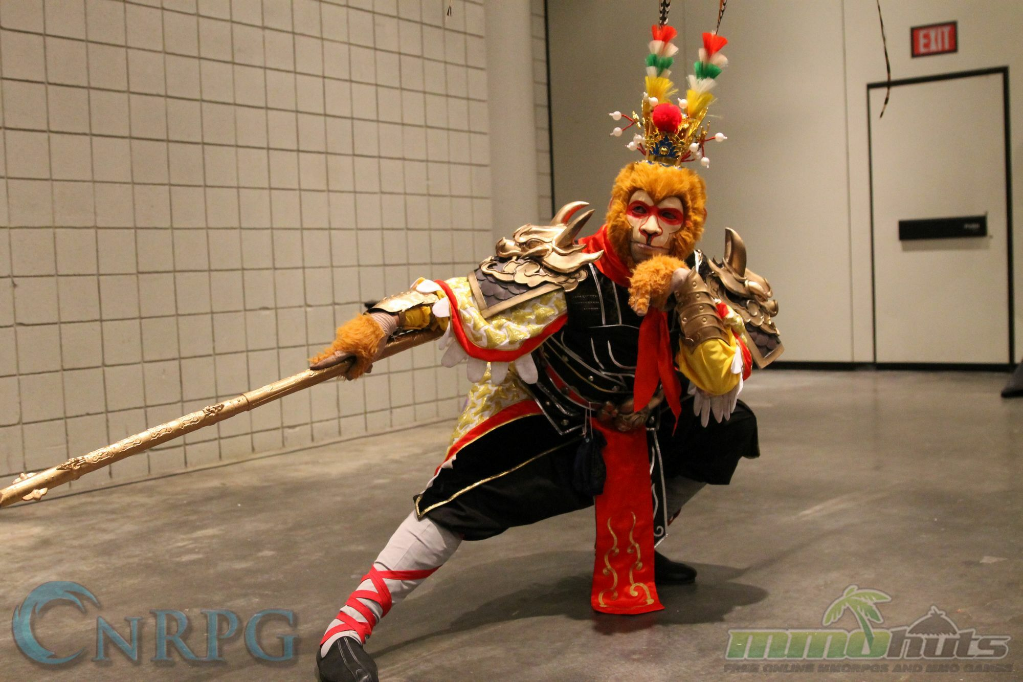 NYCC 2015 Day 3 WuKong Cosplay