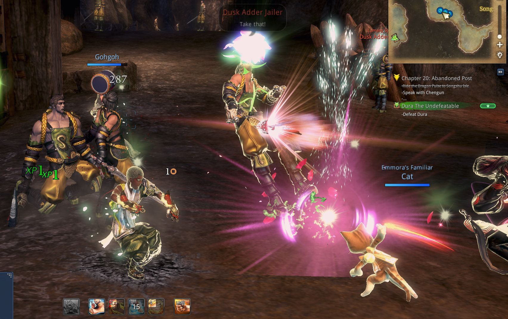 Blade and Soul Beta Blog Part 2 - PvE