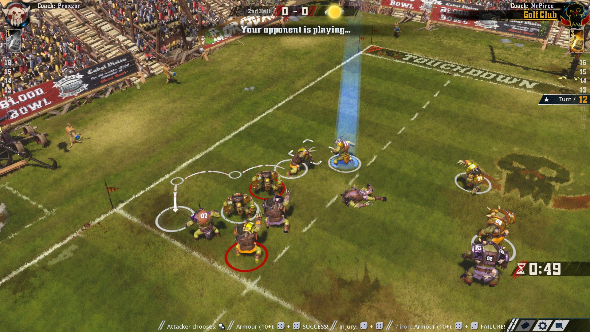 Blood Bowl II Game Review