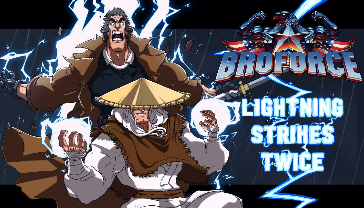 Broforce Lightning Strikes Twice Update thumbnail