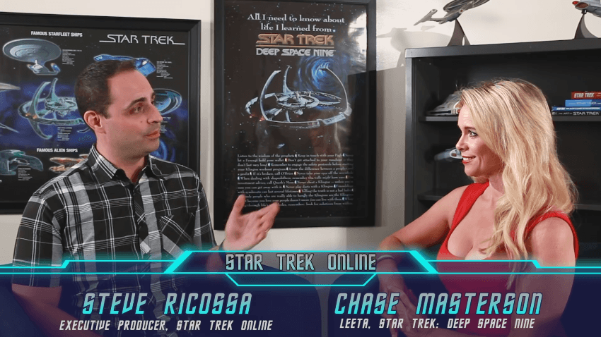 Star Trek Online: Season 11 - New Dawn Chase Masterson Interview video thumbnail