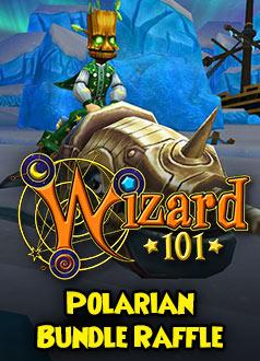 Wizard101 Homepage Raffle Giveaway