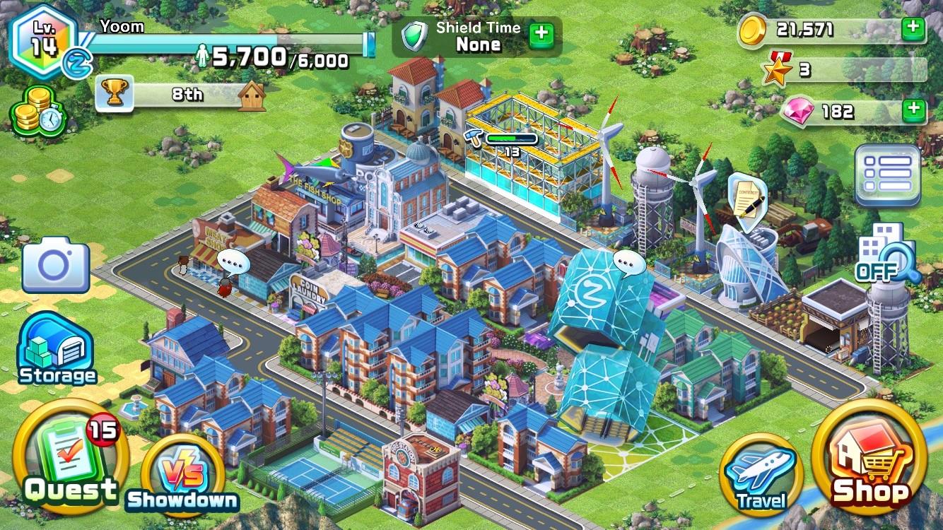 DowntownShowdown_screenshot_city