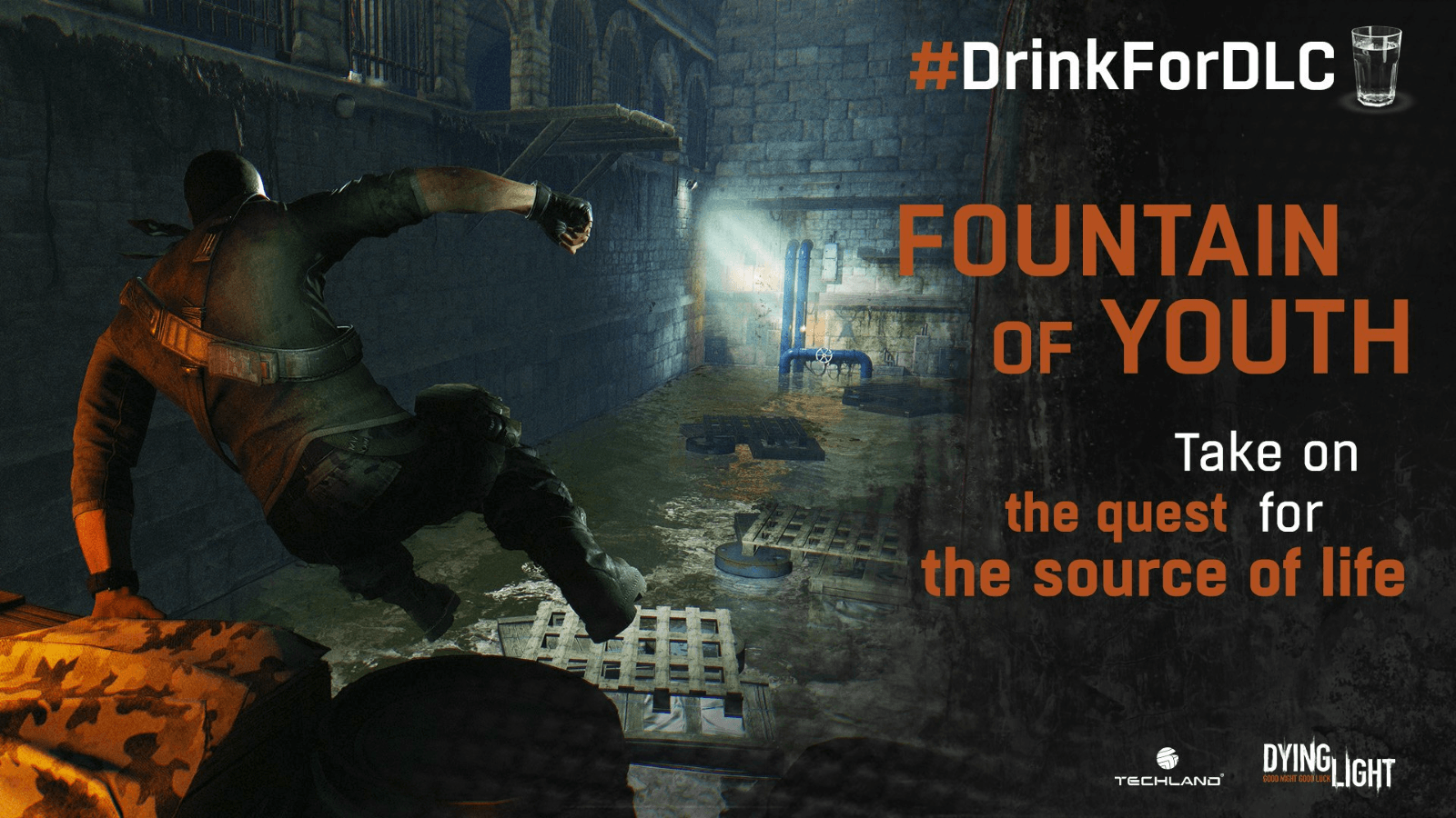 Free Dying Light #DrinkForDLC Content Revealed news header