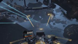 EVE: Valkyrie Pre-Alpha Game Capture (December 2015) video thumbnail